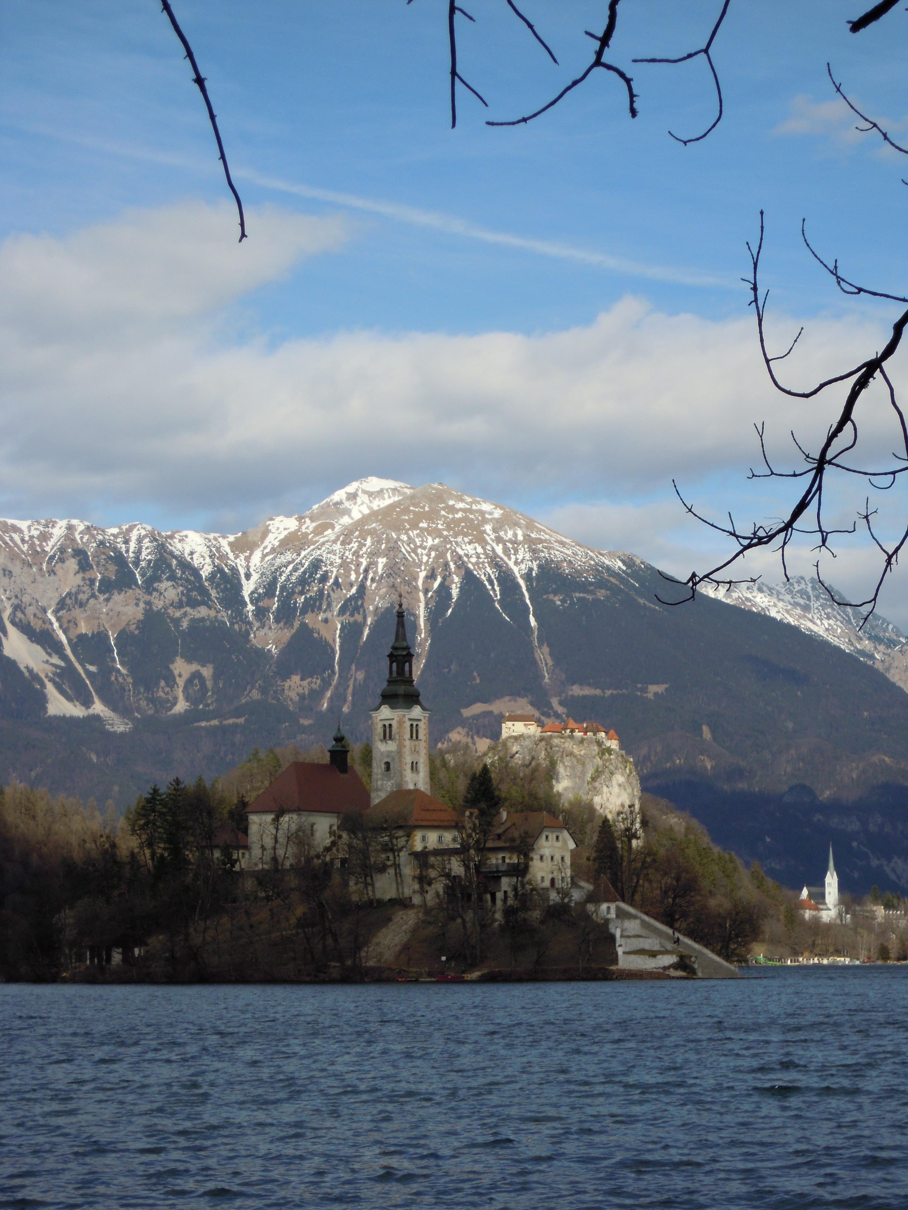 Lake Bled Slovenia So Where S The Snow