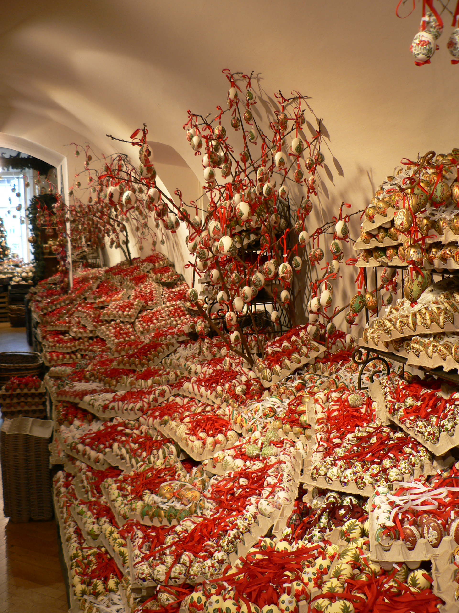 The christmas egg shop in salzburg so where 39 s the snow for The christmas shop